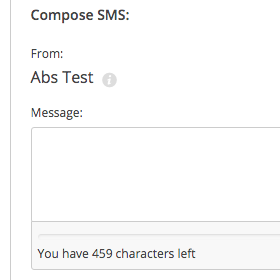 459 SMS Characters
