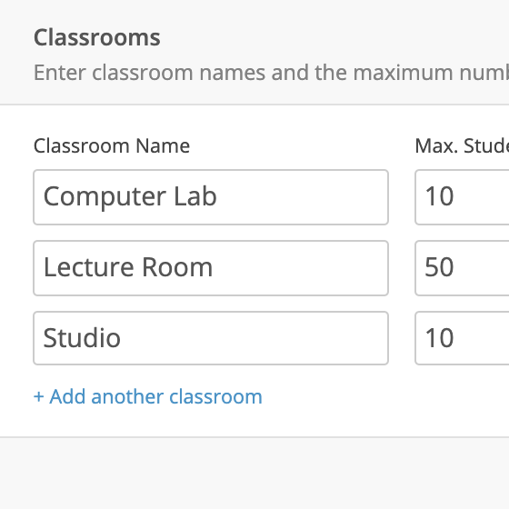 Classroom Size